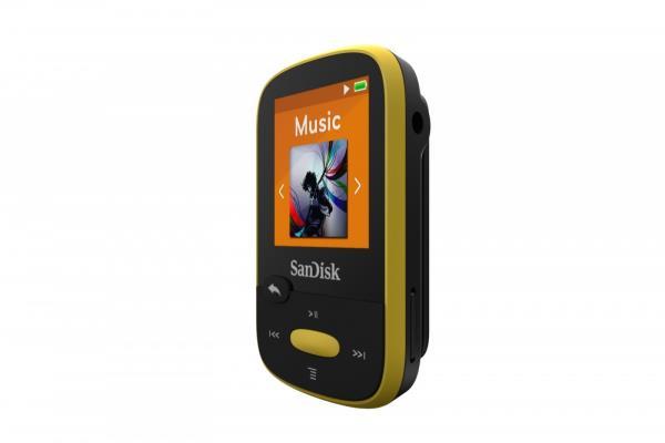 Sandisk Clip Sport 4GB Yellow MP3 atskaņotājs