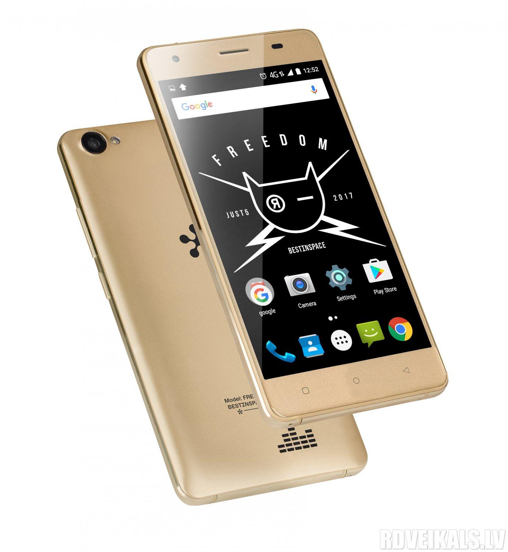 FREEDOM M303 GOLD Mobilais Telefons