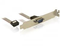 Kontroler Delock GNIAZDO COM 9PIN (DB9M) NA SLEDZIU (89108) PCI-E karte
