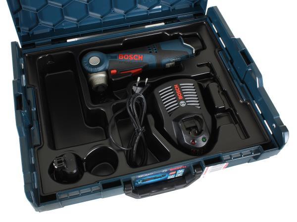 Bosch GWI 10,8 V-LI Professional 2 x 2,0 Ah + L-Boxx Elektroinstruments
