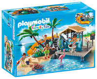 PLAYMOBIL 6979 Family Fun - Karibikinsel mit Strandbar konstruktors