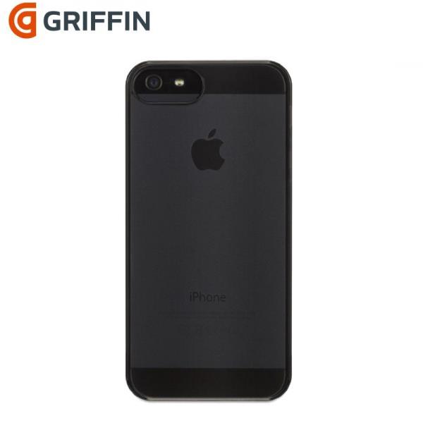 Griffin GB36101 iClear See-through shell Plastmasas Caurspīdīgs aizmugures vāks Apple iPhone 5 / 5S / iPhone SE Melns aksesuārs