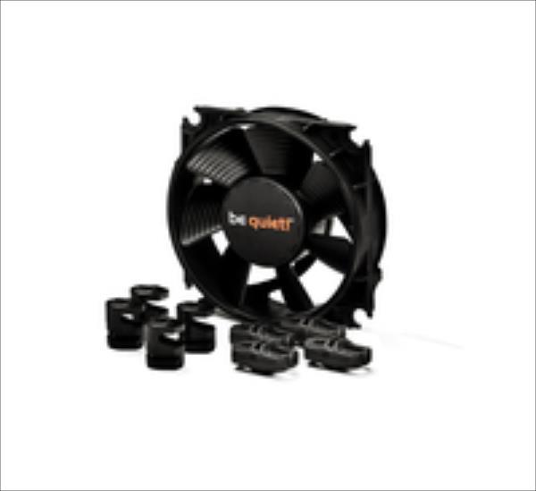 be quiet  PC fan Silent Wings 2, 80x80x25, 2000 rpm, 14,5 dB ventilators