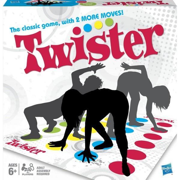 Hasbro Twister Refresh galda spēle