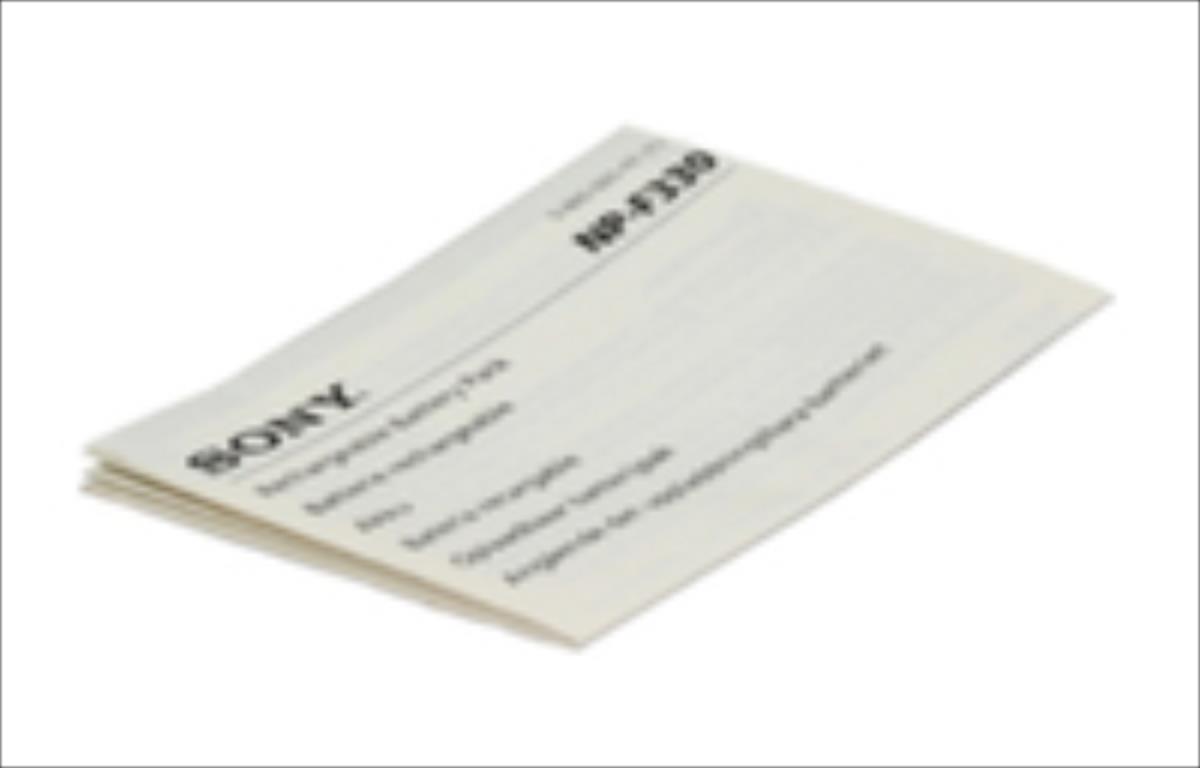 Sony IM NP-F330 (E/FR/SP/D/SWE/G)   386592511