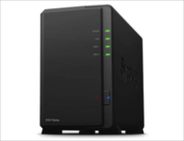 Synology DS216play, 2-Bay SATA 3, 1,6GHz, 1GB, 1xGbE LAN, 2xUSB3, 1xUSB2, eSAT Ārējais cietais disks