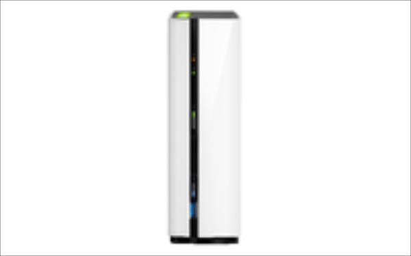 NAS QNAP TS-128 1x0HDD 1GB 1.1GH z 1LAN 1xUSB3.0 1xUSB2 Ārējais cietais disks