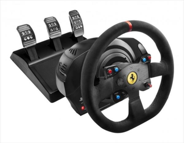 Thrustmaster T300 Ferrari Integral Racing Wheel Alcantara Edition (PS4, PS3, PC) spēļu konsoles gampad