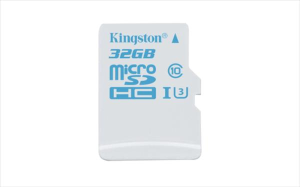 Kingston 32GB microSDHC UHS-I U3 Action Card Single Pack w/o Adapter atmiņas karte