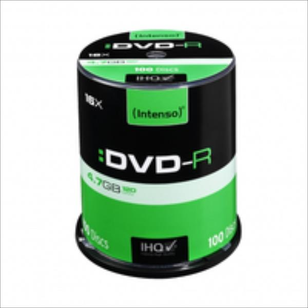 DVD-R Intenso [ cake box 100 | 4.7GB | 16x ] matricas