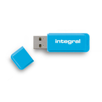 Integral USB Flash Drive Neon 32GB USB 2.0 - Blue USB Flash atmiņa