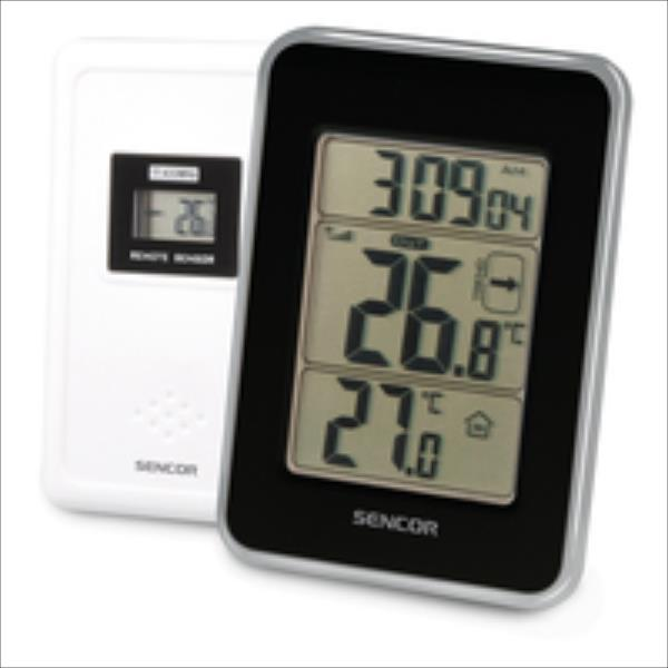 SENCOR SWS 25 BS barometrs, termometrs