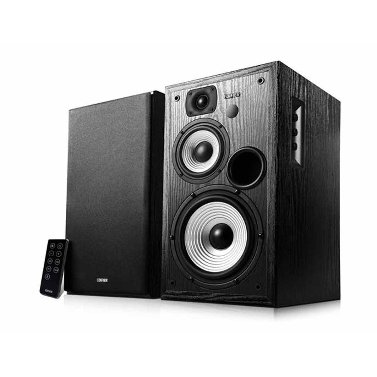 Edifier Studio R2730DB 2.0 Bluetooth Speakers/ 136W RMS/ Remote Control/ Bluetooth, Dual Digital (Optical) and Analogue (RCA) Audio Inputs datoru skaļruņi