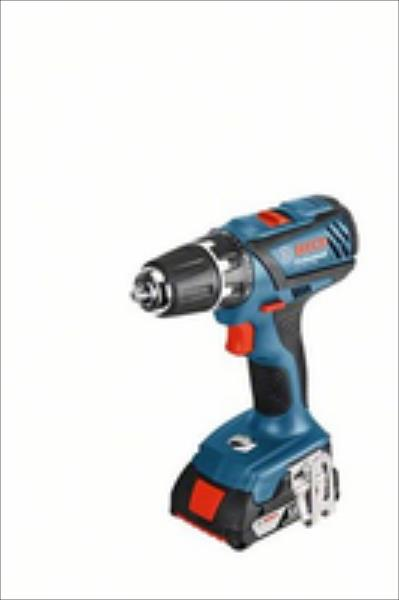 Bosch GSR 18-2-LI Plus Cordless drill/2x2.0Ah Li-Ion/18V/63Nm/1.5kg+L-Boxx storage case Elektroinstruments