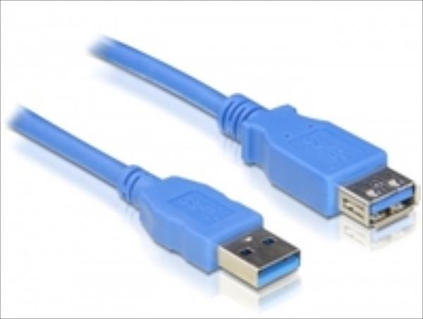 Delock cable USB 3.0-A Extension male-female 2m USB kabelis