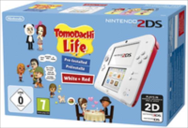 Nintendo 2DS + Tomodachi Life spēļu konsole