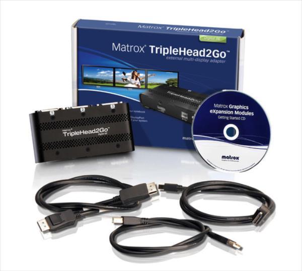 MATROX TripleHead2Go, Digital SE, Retail video karte