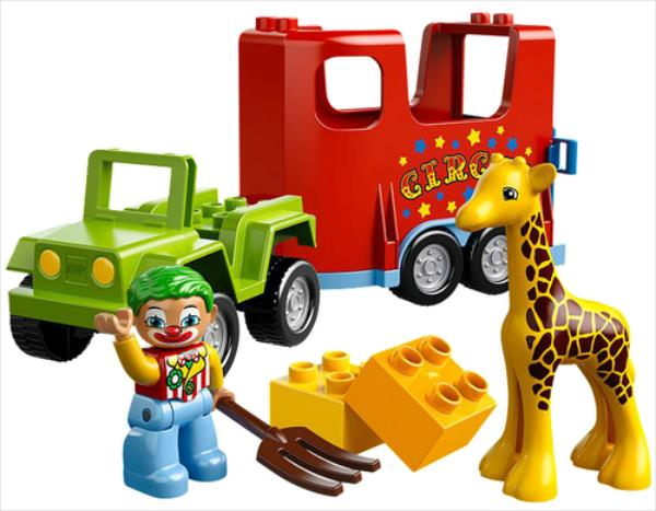LEGO Circus Transport V29 10550 LEGO konstruktors