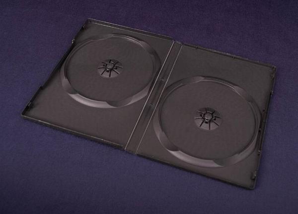 ESPERANZA DVD Box 2 Black 14 mm ( 100 Pcs. PACK)