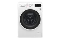 LG Steam washing mashine  F4J6TY0W Front loading, Washing capacity 8 kg, 1400 RPM, Direct drive, A+++, Depth 55 cm, Width 60 cm, White, Stea Veļas mašīna