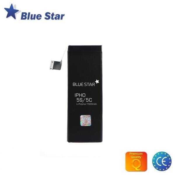 BlueStar Akumulators Apple iPhone 5S Li-Ion 1560 mAh Analogs 616-0722 aksesuārs mobilajiem telefoniem