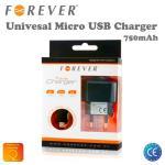 Forever Tīkla Lādētājs Micro USB 750mAh Universāls HQ Analogs Nokia AC-10E (EU Blister) aksesuārs mobilajiem telefoniem