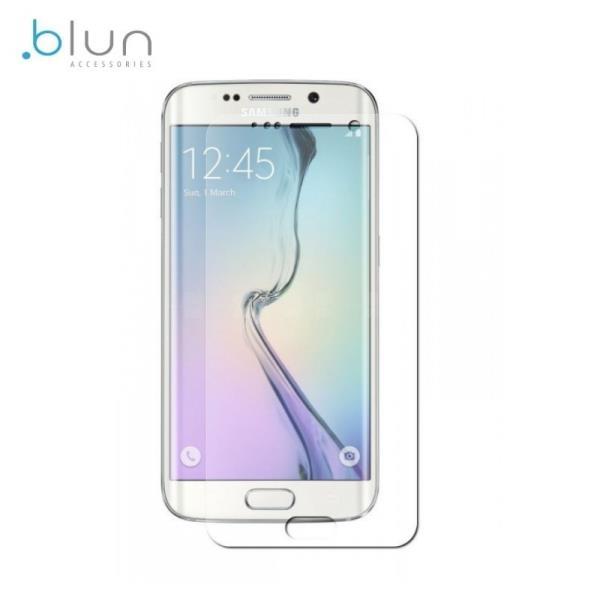 Blun Extreeme Shock 0.33mm / 2.5D Aizsargplēve-stiklss Samsung G925 Galaxy S6 Edge (EU Blister) aksesuārs mobilajiem telefoniem