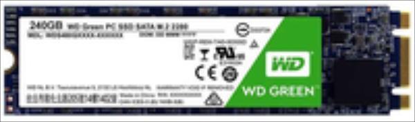 WD Green SSD M.2 SATA 240GB SATA/600 SSD disks