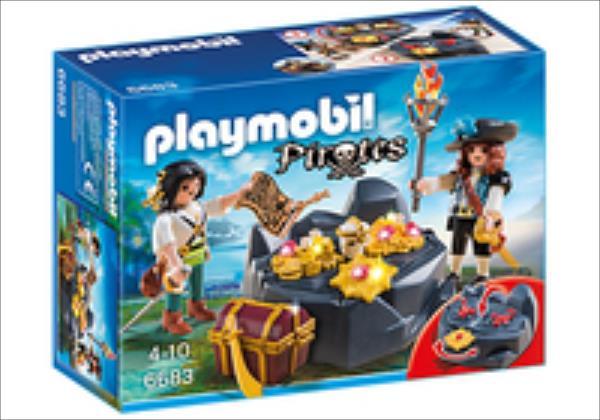 Playmobil Pirates Pirate Treasure Hideout 6683 konstruktors