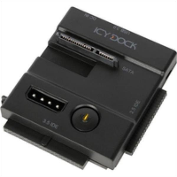 IcyDock  6,3/8,9cm SATAI-III&IDE HDD&SSD USB 3.0