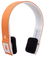 Manhattan Bluetooth Stereo Headset FreeStyle, with microphone, orange austiņas