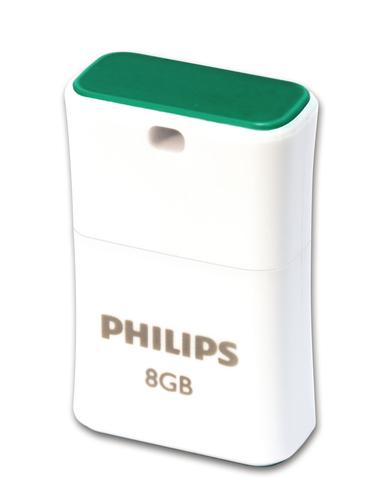 Philips USB 2.0 Flash Drive Pico Edition Green 8GB USB Flash atmiņa