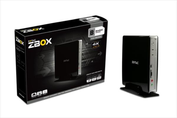 ZOTAC ZBOX BI322, N3050, DDR3L-1600, 2.5'' SATA III, USB 3.0, EU PLUG dators