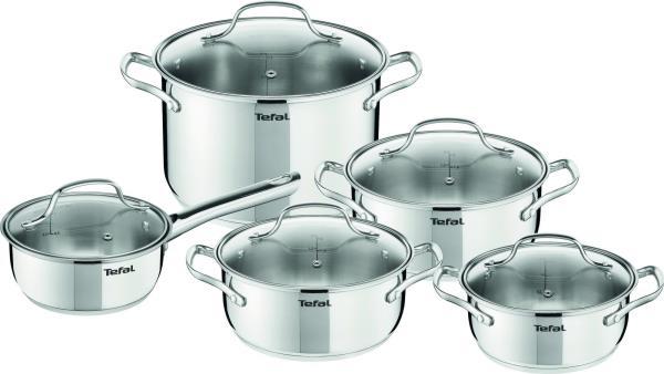 Tefal Cookware set Uno 10pcs A701SC8 Pannas un katli