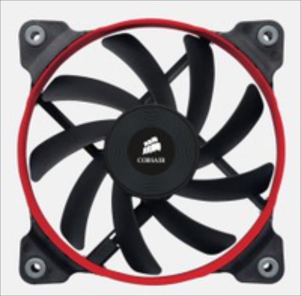 Corsair AF120 High Airflow Fan 120mm 3 pin single pack dzesētājs, ventilators