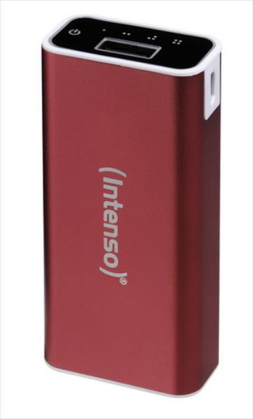 Intenso A5200, 5200mAh, Red Powerbank, mobilā uzlādes iekārta