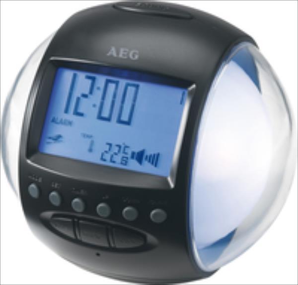 AEG MRC 4117 black-silver radio, radiopulksteņi