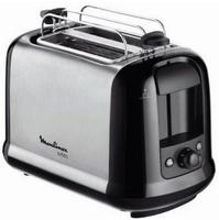 Moulinex LT2618 Toaster Subito Edelstahl matt edelstahl/schwarz Tosteris