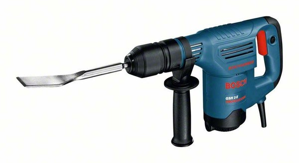 Bosch Domolition Hammer GSH 3 E blue