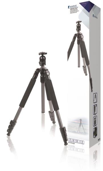 Konig lightweight photo and video camera tripod 131.5 cm statīvs