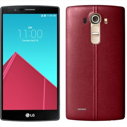 LG H818P G4 dual 32GB leather red Mobilais Telefons