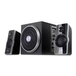 FENDA Multimedia - Speaker F&D A320 (2.1, 41W, 120Hz-20kHz, Subwoofer: 30Hz-130Hz, Wooden, Black) datoru skaļruņi