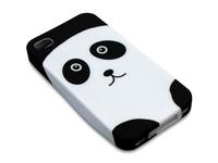 Sandberg Print Cover 4/4S Panda maciņš, apvalks mobilajam telefonam