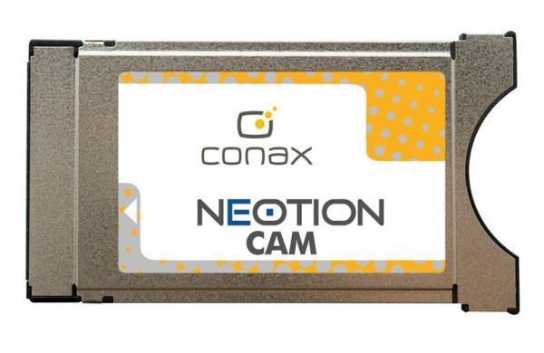 Conax CAM modulis Neotion uztvērējs