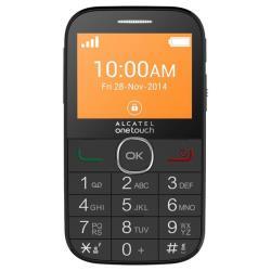 Alcatel 2004G Black Mobilais Telefons