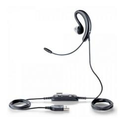 Jabra Headset UC Voice   250 MS Earhook,NC,PnP,M austiņas