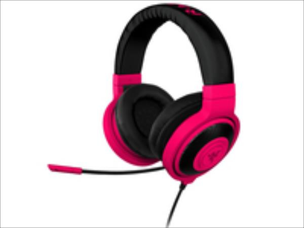 Razer Kraken Pro Gaming Headset Neon Red austiņas