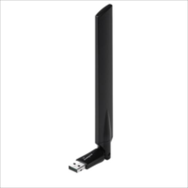Edimax AC600 Dual Band 802.11ac USB adapter, 2,4GHz+5GHz, 4/6dBi antenna cradle