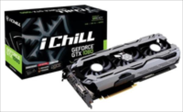 Inno3D GeForce GTX 1080 iChill X3, 8192 MB GDDR5X video karte