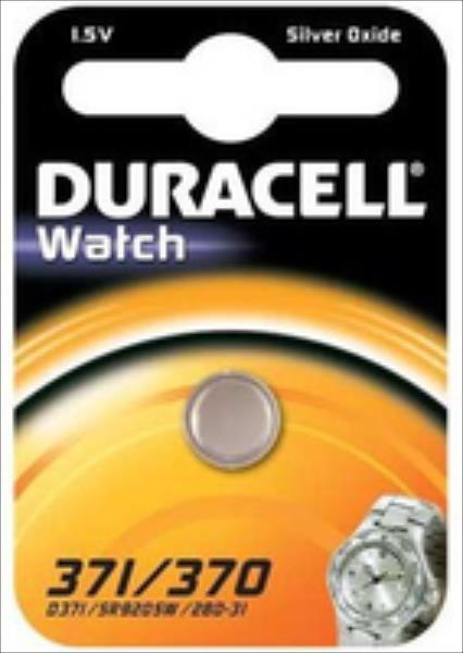 Duracell D371/370 (SR920SW) Blistera iepakojumā 1gb. Baterija